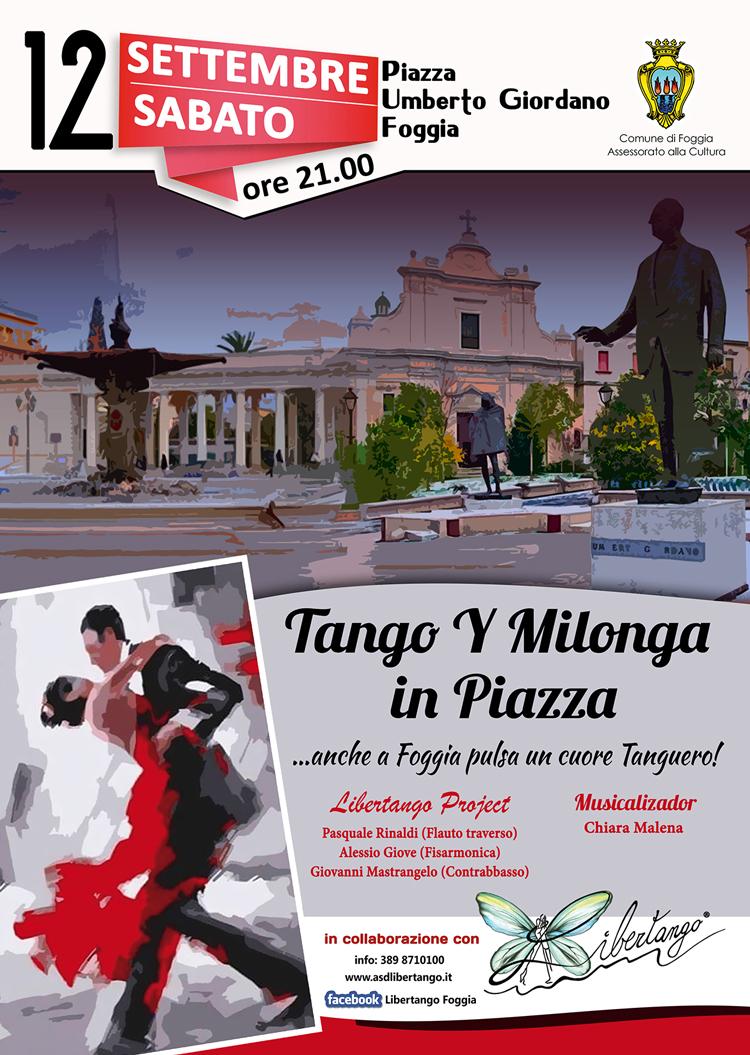 Tango y milonga in piazza